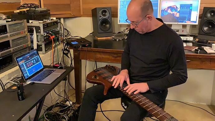 Trey-Gunn-Home-Studio-Gig-Performer