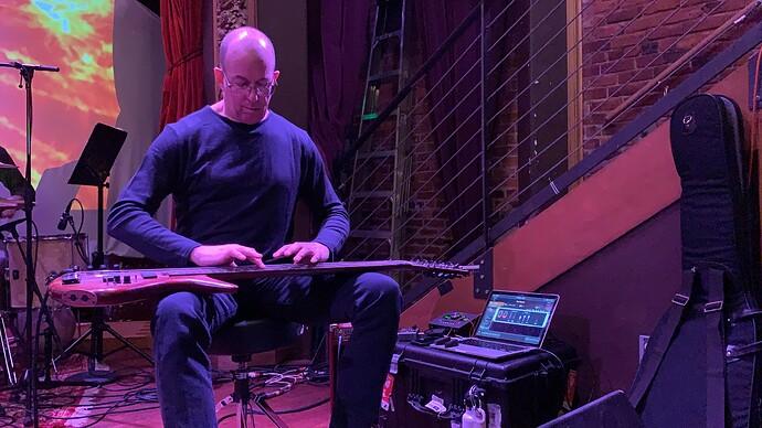Trey-Gunn-touch-guitarist-Gig-Performer