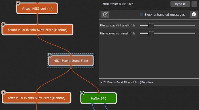 MIDI-events-burst-filter