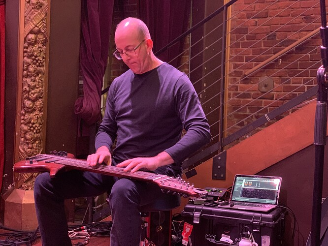 Trey-Gunn-touch-guitar-Gig-Performer