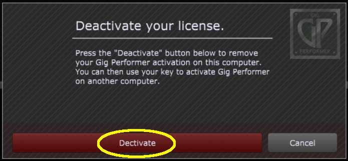 deactivate-GP